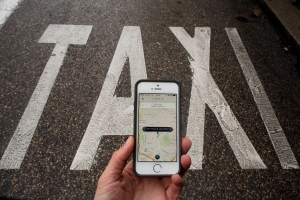 Uber and New York's taxi industry continue to dispute. (Pablo Blazquez Dominguez/Getty Images)