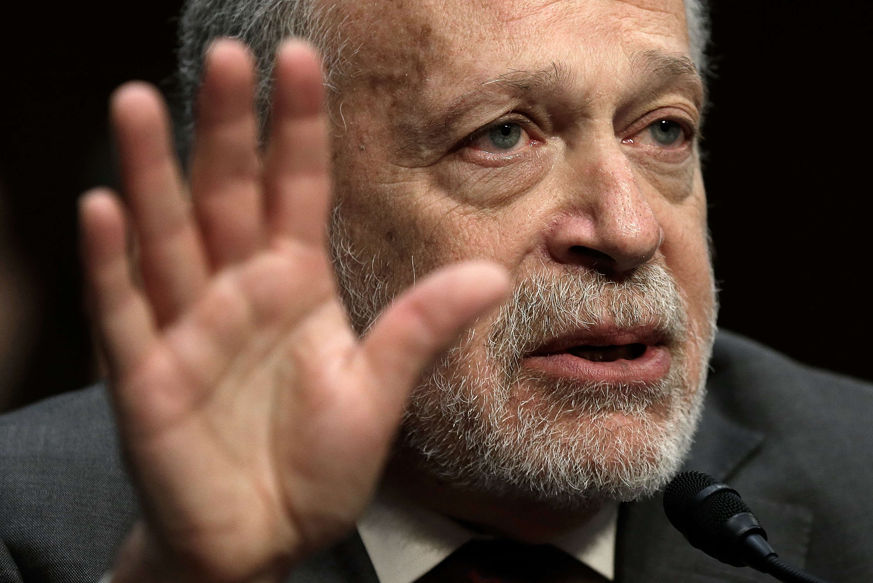 Former U.S. Labor Secretary Robert Reich testifies before the Joint Economic Committee January 16, 2014 in Washington, DC. (Photo: Win McNamee/Getty Images)