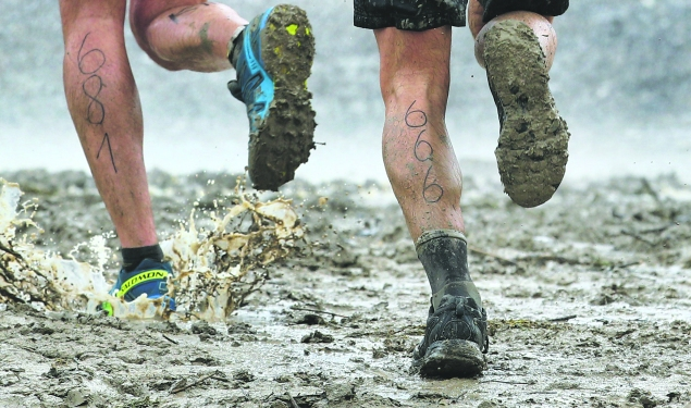 Mud racers. (Photo: Getty Images)