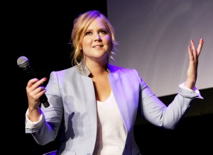 Actress Amy Schumer at the Tribeca Film Festival April 2015.  (Photo: Robin Marchant/Getty Images for the 2015 Tribeca Film Festival)