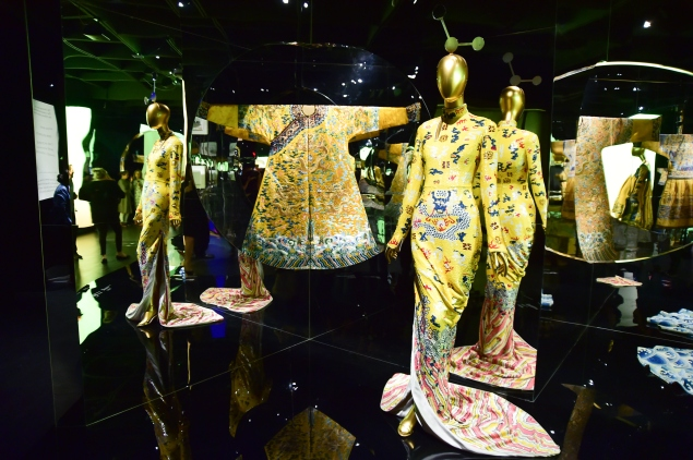 "Dress on Display at the China: Through The Looking Glass"" at The Metropolitan Museum of Art on May 4, 2015 in New York City.  (Photo by George Pimentel/WireImage, Courtesy of Getty)"