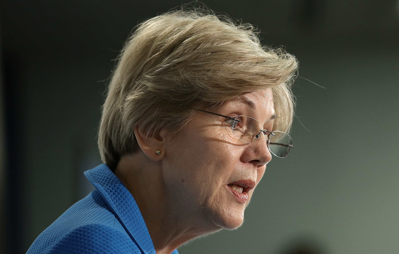 Sen. Elizabeth Warren (D-MA) (Photo by Win McNamee/Getty Images)