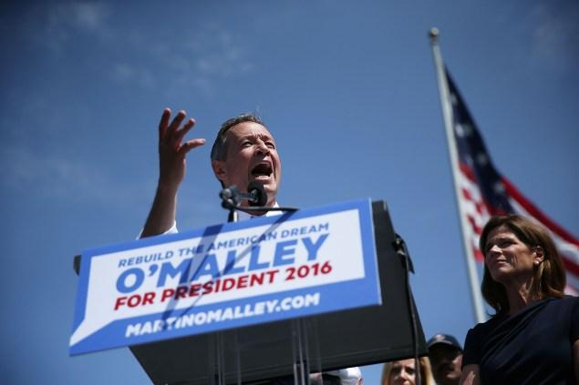 Former Maryland Gov. Martin O'Malley. (Photo: Alex Wong/Getty Images)