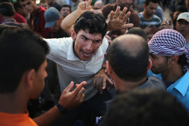 on June 12, 2015, Gaza City, Gaza. The devastation across Gaza can still be seen nearly one year on from the 2014 conflict between Israel and Palestinian militants. Money pledged by the international community six months ago to rebuild Gaza has not materialised leaving many Palestinians impoverished and still suffering with the poor economy. United Nations official figures said that the 50 day war left at least 2,189 Palestinians dead, including more than 1,486 civilians, and 11,000 injured. 67 Israeli soldiers and six civilians were killed.