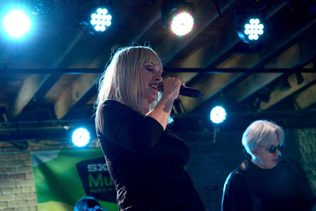 Debbie Harry and Chris Stein of Blondie perform at SXSW. (Photo: Getty Images)
