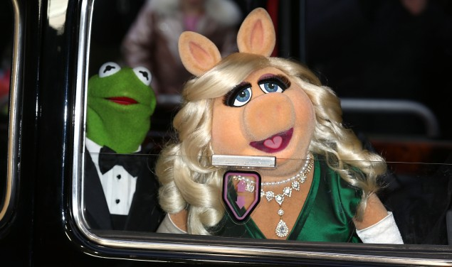 Kermit the Frog and Miss Piggy. (Photo: Getty Images)