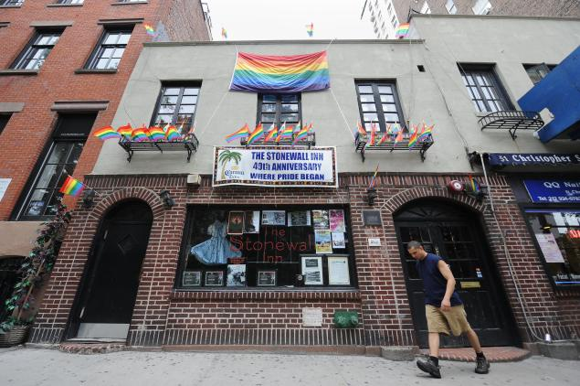 The Stonewall Inn has finally been given landmark status. (Stan Honda/Getty Images)