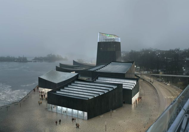 A rendering of the proposed winning design. (Photo: Guggenheim Museum)