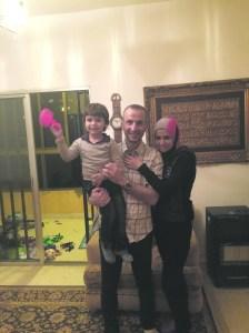 Mustafa, Nadine and Hamoudi. (Photo: Ken Silverstein)