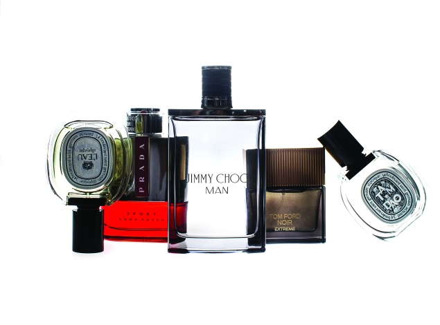 Men's colognes PHOTO: Céline Haeberly and Tashan Jackson/New York Observer