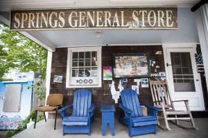 Springs General Store. (PHOTO: Emily Assiran/New York Observer)