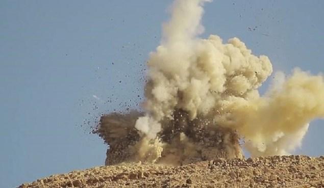 The shrine of Shagaf, known as Abu Behaeddine demolished by ISIS. Photo: Courtesy The Syrian Arab Republic - Ministry of Culture