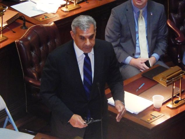 With Republican N.J. State Senator Joe Kyrillos retiring, two of his district-mates in the 13th legislative district are competing for his seat.