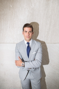Luis D. Ortiz of Million Dollar Listing New York. Photo by Arman Dzidzovic/The Observer