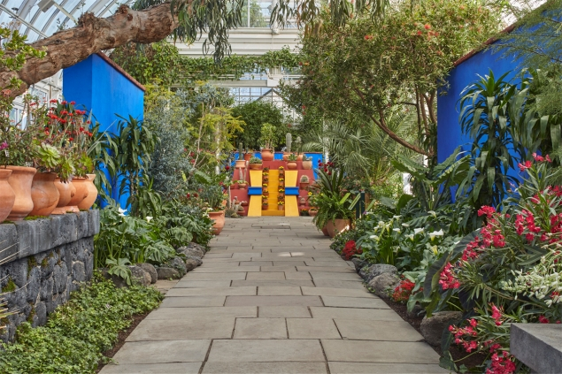 """Frida Kahlo"" Art, Garden, Life"" is on view at the New York Botanical Garden through November 1. (Photo: nybg.org)"