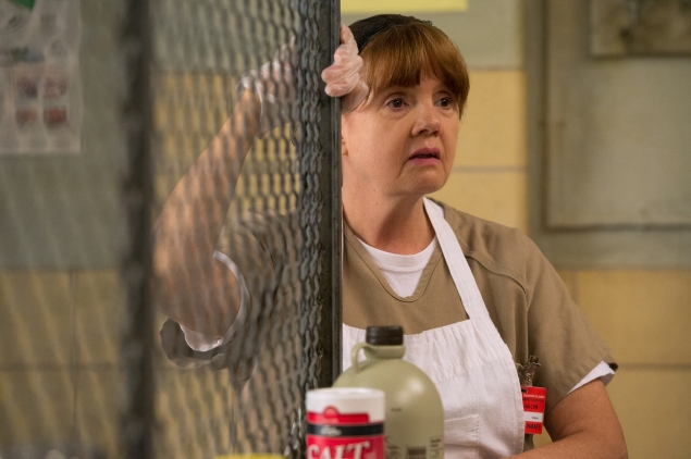 Norma (Annie Golden) becomes an unexpected leader of Litchfield. (Photo: Netflix)