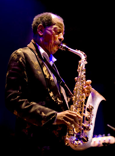 Ornette Coleman performs in 2008 at the Enjoy Jazz Festival in Heidelberg, Germany. (Photo: Wikimedia Commons)