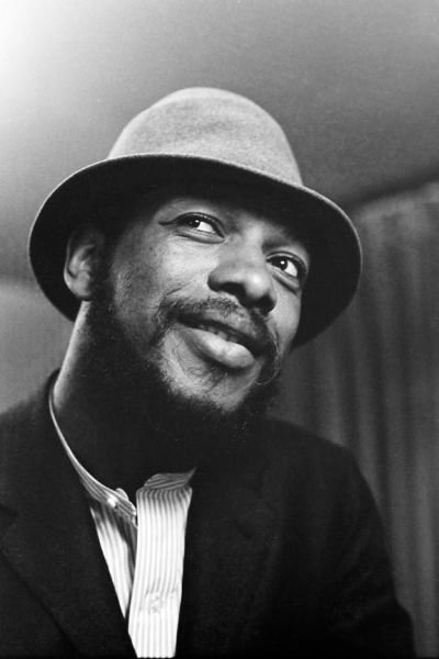 Ornette Coleman photographed by Jill Krementz on April 6, 1961 in New York City.