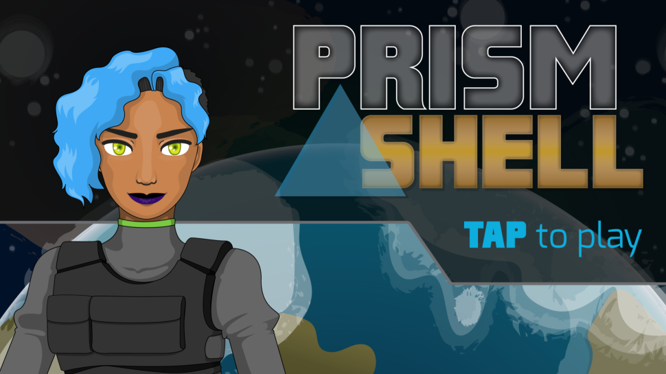 Prism Shell title screen