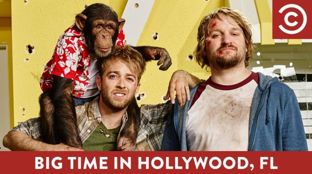 Alex Anfanger and Lenny Jacobson in Big Time in Hollywood, FL
