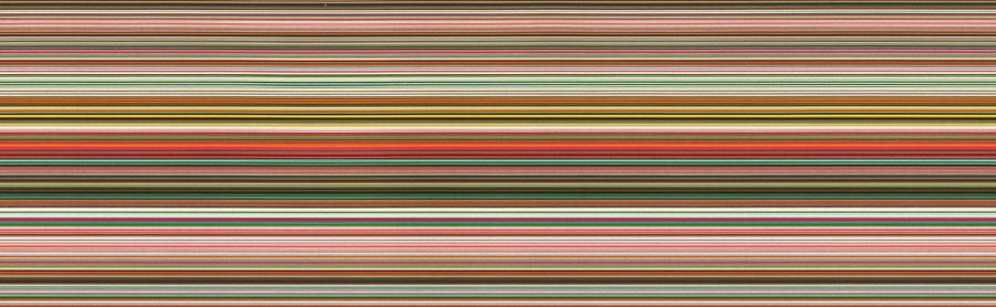 Gerhard Richter's 930-7 Strip, 2015. (Courtesy Marian Goodman Gallery)