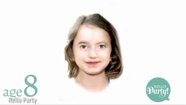 Age 8. (Photo: The Mirror/Hello Party)
