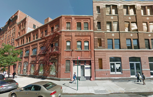 461 West 126th Street. The former brewer will be the new home of Gavin Brown's Enterprise. (Photo: screenshot from Google Maps)