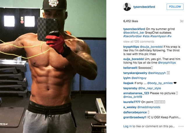 Hopefully your end result will look like this, too. (Photo: Instagram/Tyson Beckford)