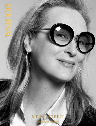 Meryl Streep for Neuejournal (Photo by Brigitte Lacomb / Neuejournal)