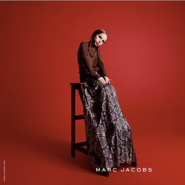 Betty Lowe • Marc Jacobs Fall '15 campaign  (Photo by David Sims)
