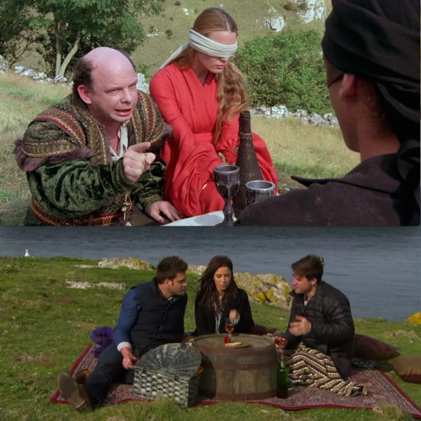 omg i would accept ALL of wallace shawn's roses. (Photos: 20th Century Fox/ABC)