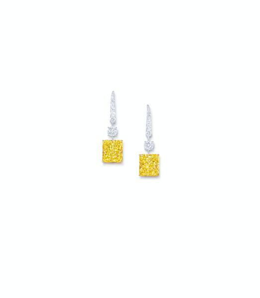 Diamond Drop Earrings (Photo Courtesy of Graff Diamonds)