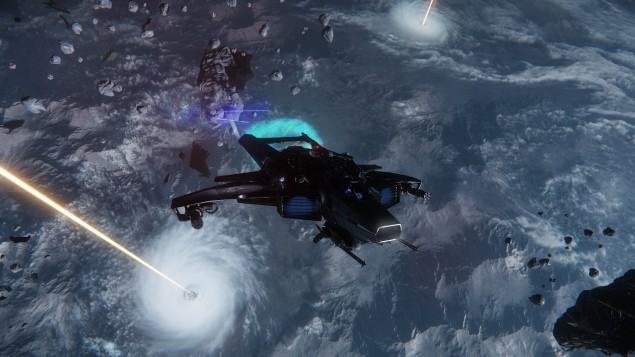 From the forthcoming Star Citizen. (Photo: Courtesy of Cloud Imperium Games)