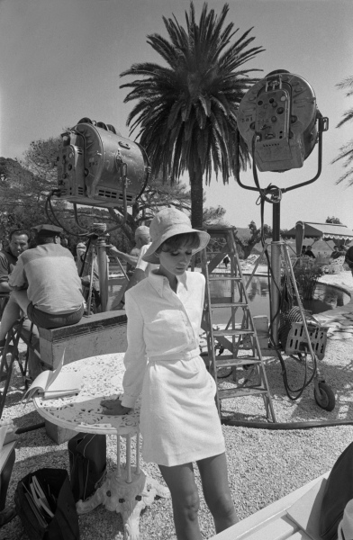 British actress Audrey Hepburn on the set of How to Steal A Million. (Photo by Terry O'Neill/Getty Images)