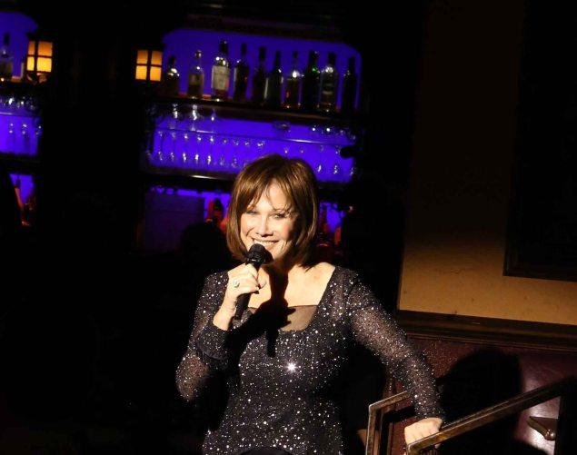 Michele Lee sings Cy Coleman at 54 Below. (Photo: Stephen Sorokoff)