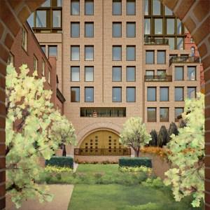 A rendering of 100 Barrow Street. (Photo: Ernest Burden/Acme Digital)
