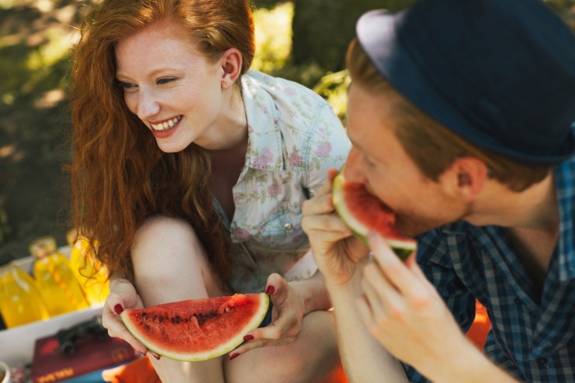Sign up with The Dating Ring, one of 2015's Tech Insurgents, and you too could be eating watermelon with your sweetheart.