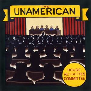 Robert Brown's 1991 work The UnAmerican House Activities Committee. (Courtesy: DC Moore Gallery)