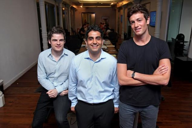 Oscar co-founders (from left) Mario Schlosser, Kevin Nazemi, and Joshua Kushner want to make health insurance easy and transparent. (Photo: Bruce Gilbert)
