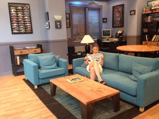 Hulu's Seinfeld Apartment