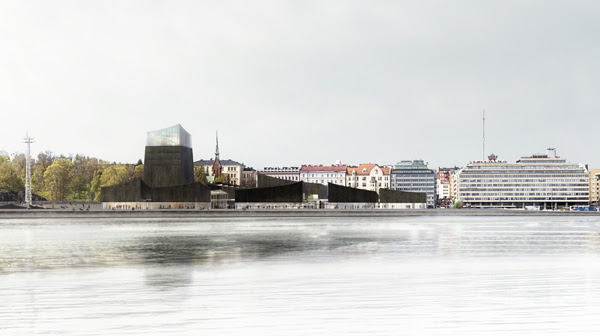 The winning design for the Guggenheim Helsinki by Moreau Kusunoki Architectes. (Photo: Guggenheim)