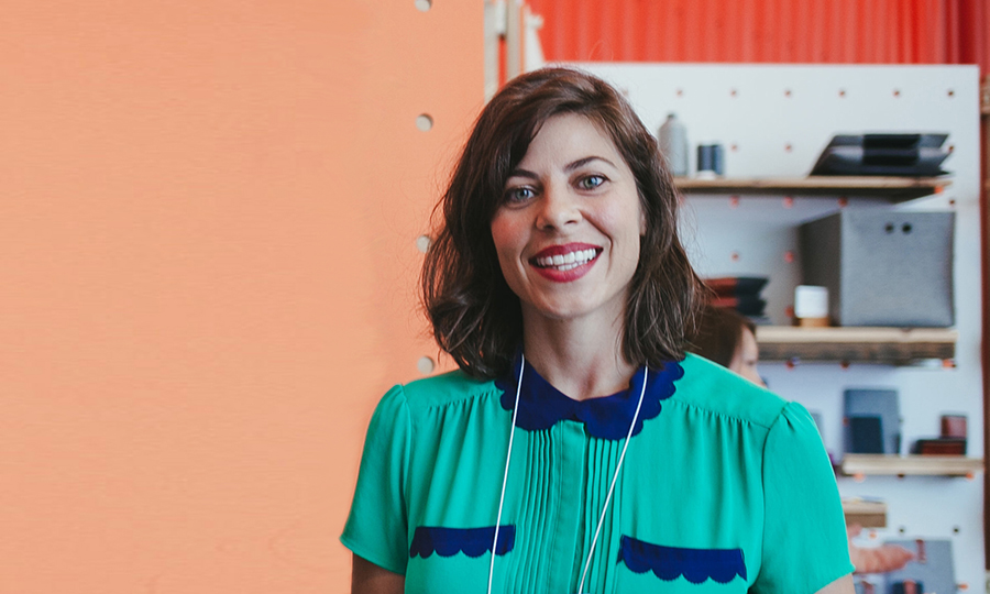 Vanessa Bertozzi, Program Manager, Etsy Wholesale. (Photo: Laura Pardo/Etsy)