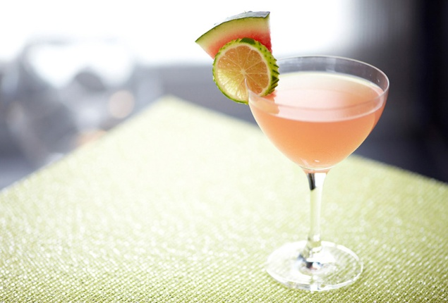 Watermelon and mint martini. (Photo: Ketel One)
