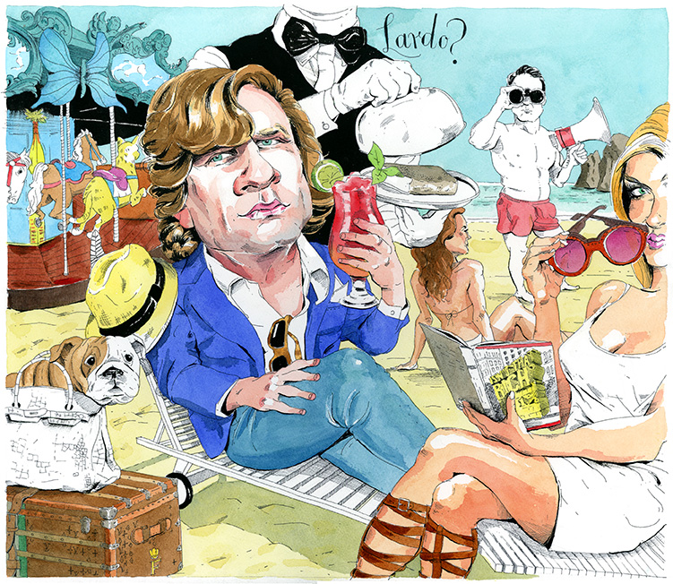 Illustration by Richard Kirshenbaum