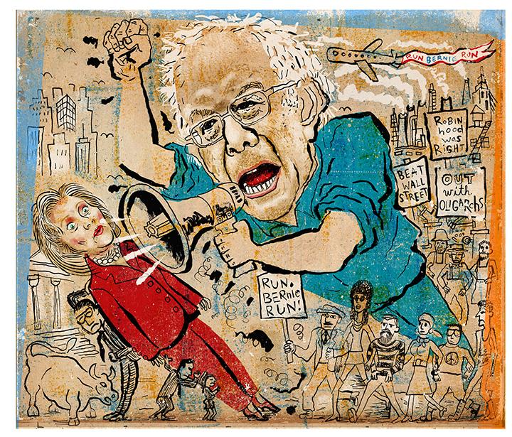 (Illustration: Josh Gosfield/New York Observer)