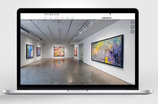 De Buck Gallery's virtual tour.