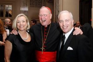 Cindy McCann, His Eminence, Cardinal Timothy Michael Dolan, Bob McCann== Catholic Charities of Archdiocese of New York Gala== Waldorf Astoria, New York== March 21, 2012== ©Patrick McMullan== Photo-JIMI CELESTE/patrickmcmullan.com==