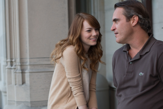 Emma Stone and  Joaquin Phoenix in Irrational Man.