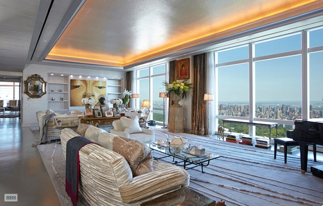 Russian financier Andrei Vavilov has sold his penthouse at 25 Columbus Circle for $50.9 billion. (Brown Harris Stevens)