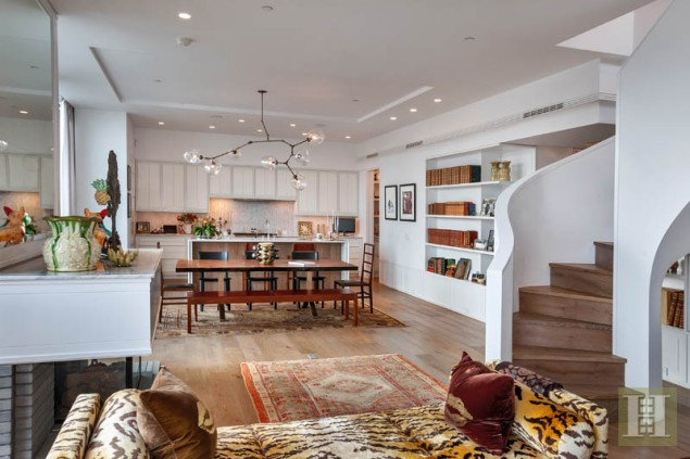 Susan Brown Bloomberg has found a buyer for her 41 Bond Street penthouse. (Scott Wintrow/Halstead)